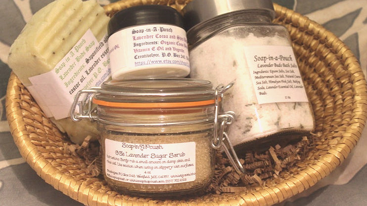 Lavender Body Essentials Gift Set