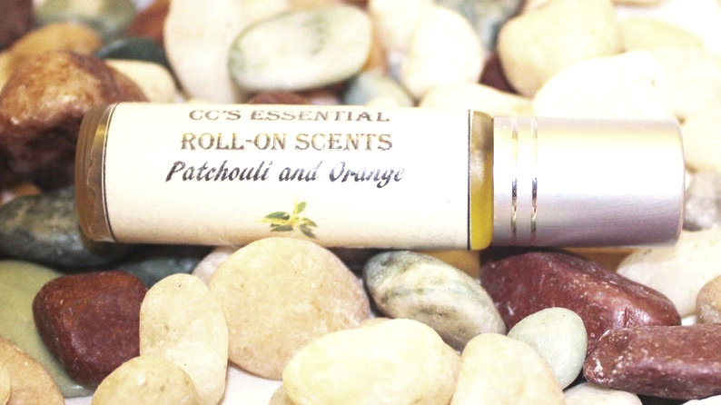 Patchouli and Orange Roll-on