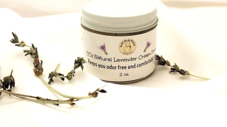 CC's Lavender Coconut Cream Deodorant