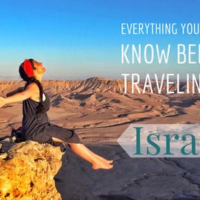 Όλα όσα Πρέπει να Γνωρίζεις πριν Ταξιδέψεις στο Ισραήλ