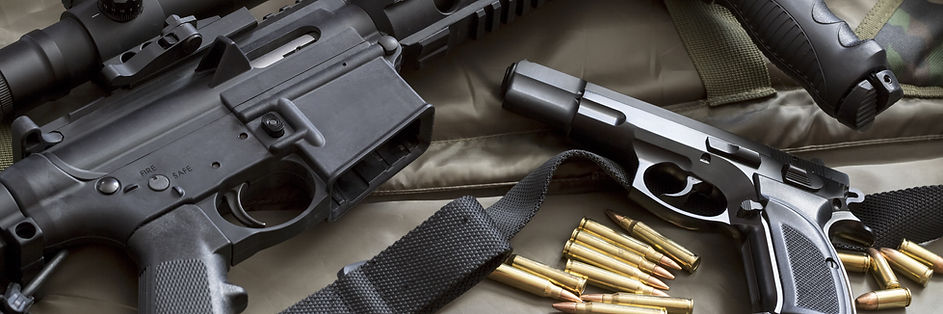 Firearms and ammunition