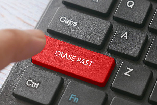 erase past button expungement