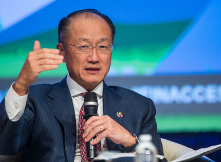 World Bank president resigns unexpectedly