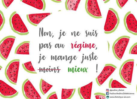 Rééquilibrage alimentaire sur Aix