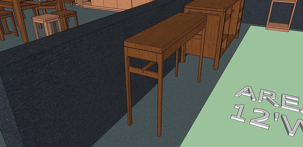 Hallway Table No. 5