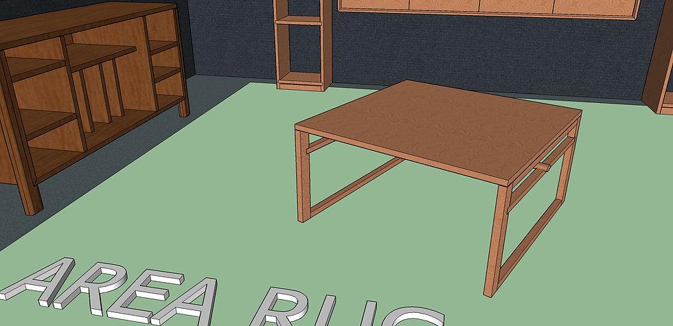 Square Coffee Table No. 4