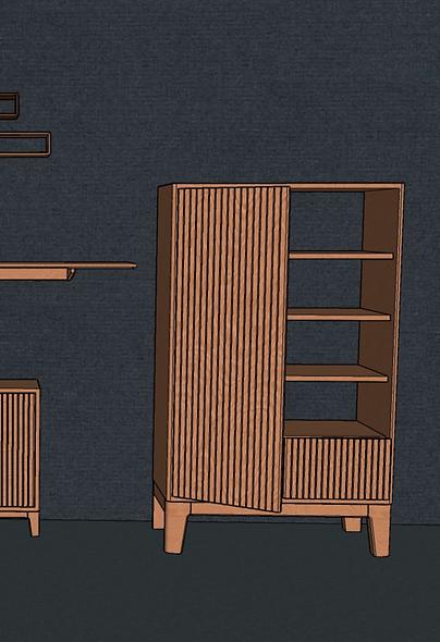 Tall Sideboard No. 1