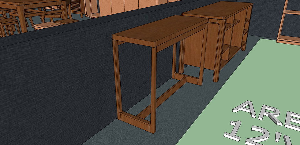 Hallway Table No. 1