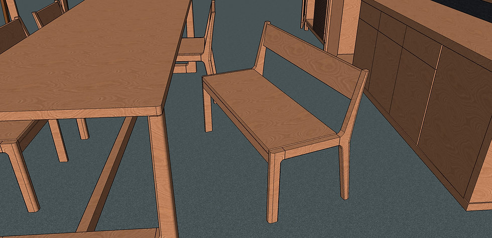 Dining Bench No. 1