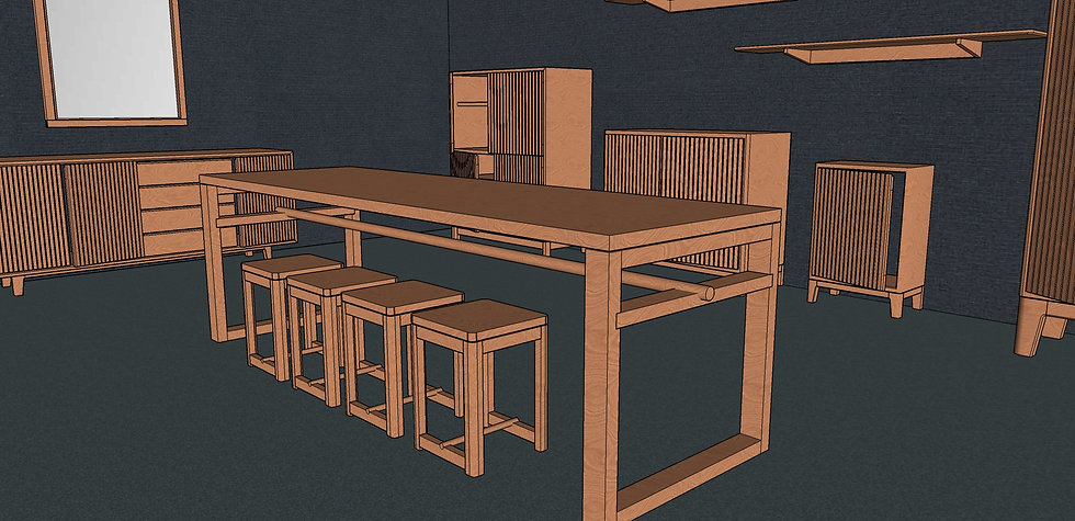 Dining Table No. 4