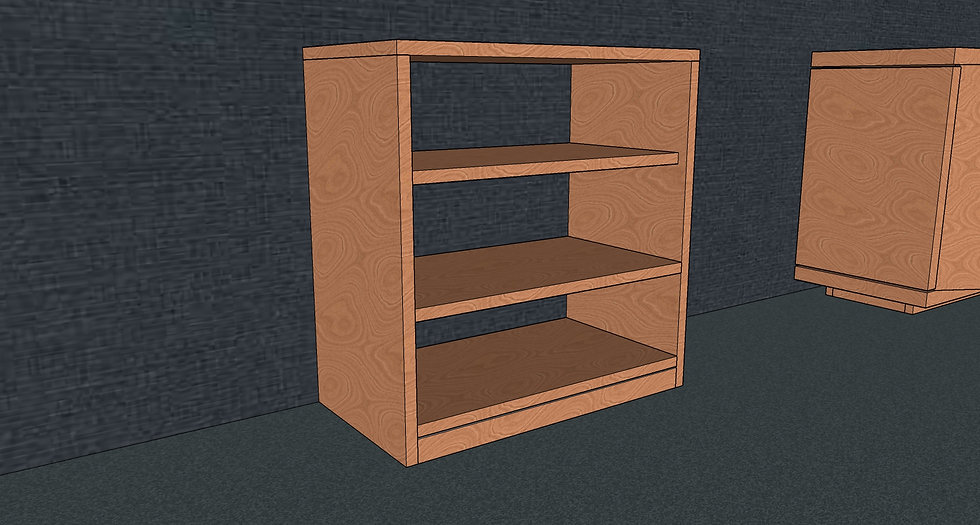 Short Bookcase No. 1