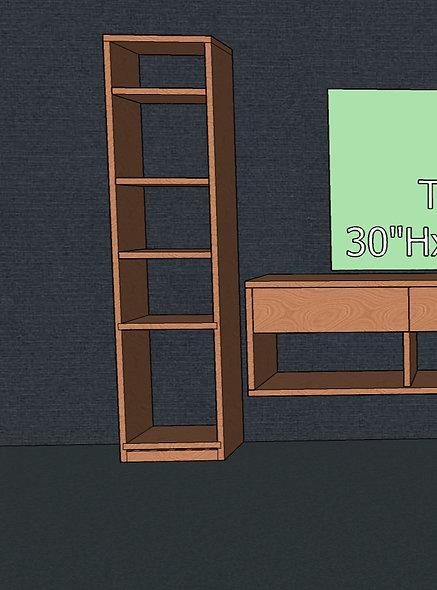 Tall Modular Shelf No. 1