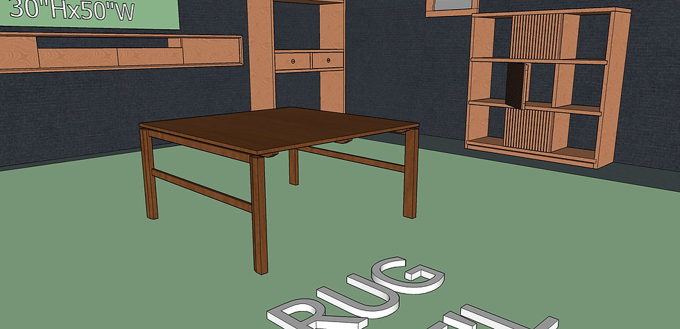 Square Coffee Table No. 3