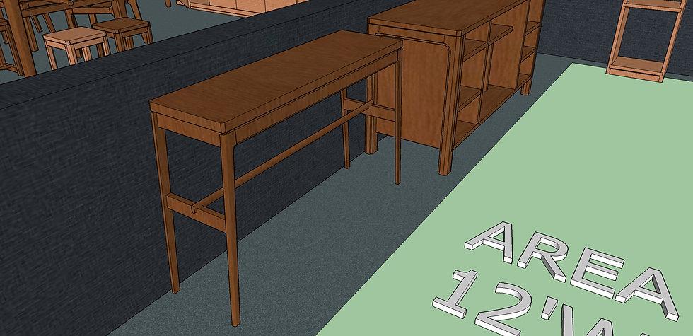 Hallway Table No. 2