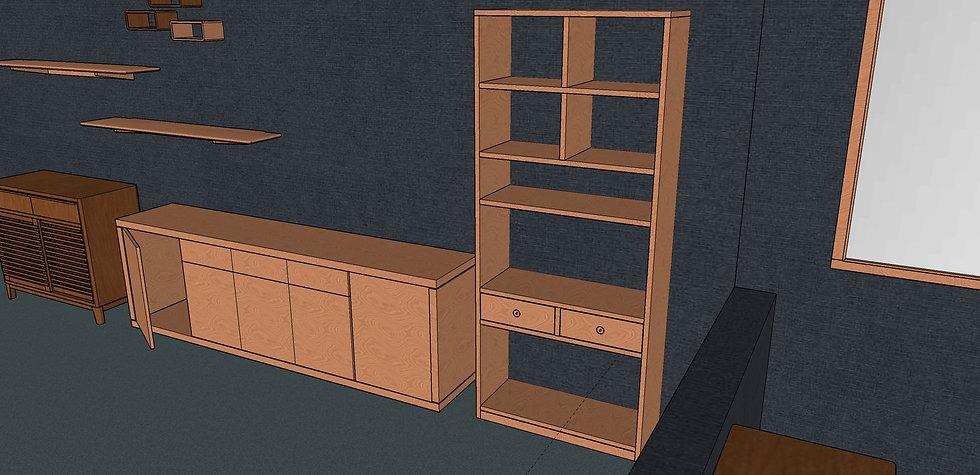 Tall Bookshelf No. 1
