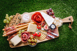 Cheese and meat board