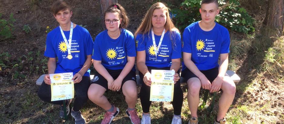 Landesmeisterschaft Luftdruck Schüler und Landesjugendspiele