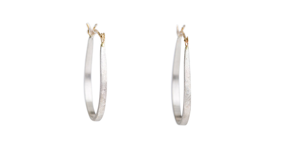 U-Shaped Hoop Earrings
