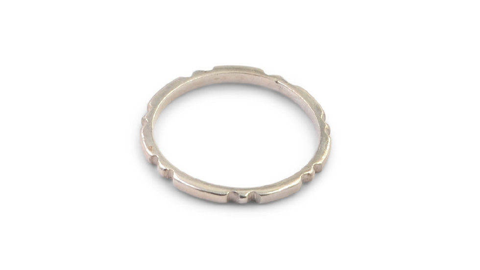 Narrow Stacking Ring
