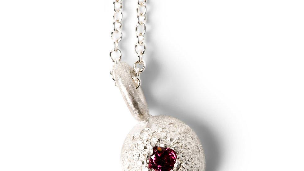 Ruby Bubble Pendant