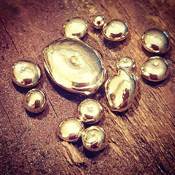 GoLd.....little bits of 14k Yellow gold
