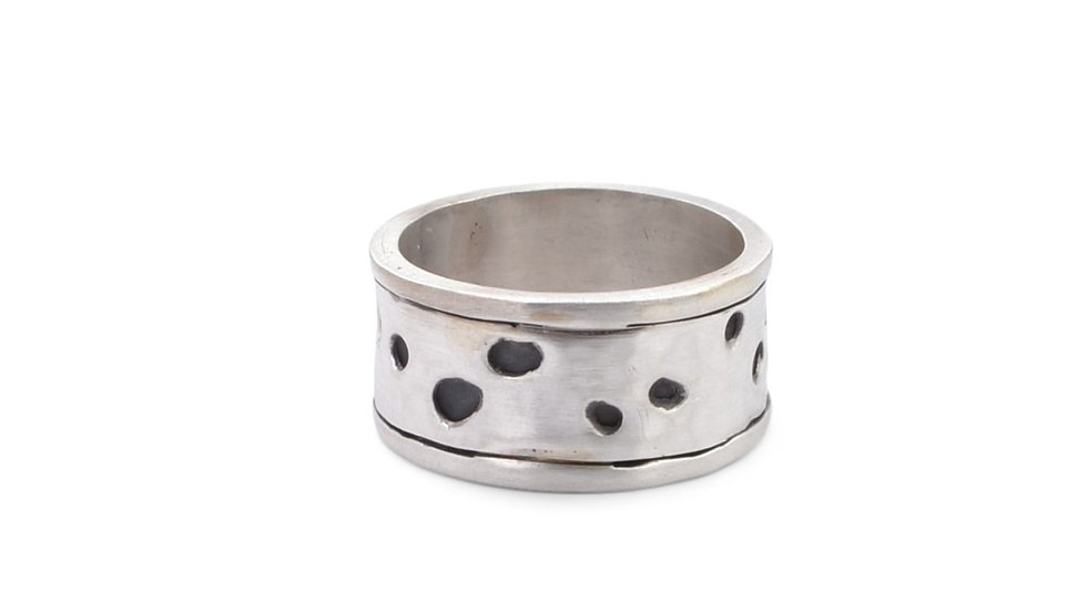 Open Spaces Silver Ring