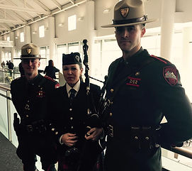 Coreyanne Armstrong bagpiper Rhode Island State Police Highlanders