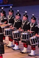 Finn McCool drummer bagpipes