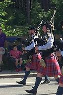 PJ Shorrock bagpiper Worcester Kilties Pipe Band