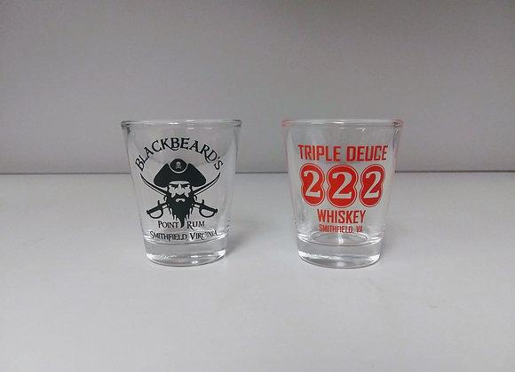 Shot Glass - Triple Deuce & Blackbeard's Point