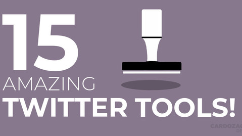 MY TOP 15 TWITTER TOOLS