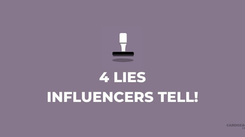 4 Lies Social Media Influencers Tell!