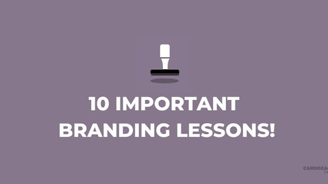10 Branding Lessons You Should Know!