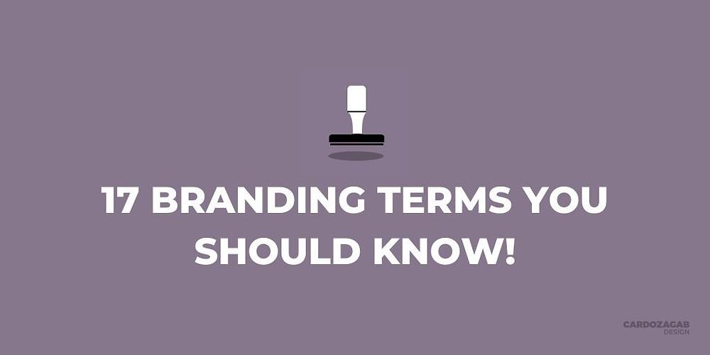 17 Branding Terms