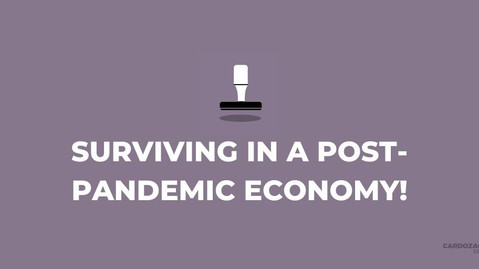 How Businesses Can Survive in a Post-Pandemic Economy