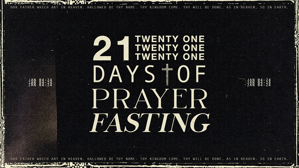 21 days of prayer and fasting graphic sp
