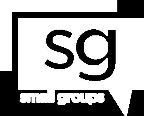 small groups logo knockout text copywhit