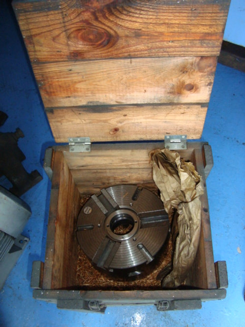 "10"" PRATT GAMET 3 JAW POWER  CHUCK"