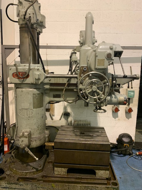 "ASQUITH OD1 3ft 6"" RADIAL ARM DRILL"