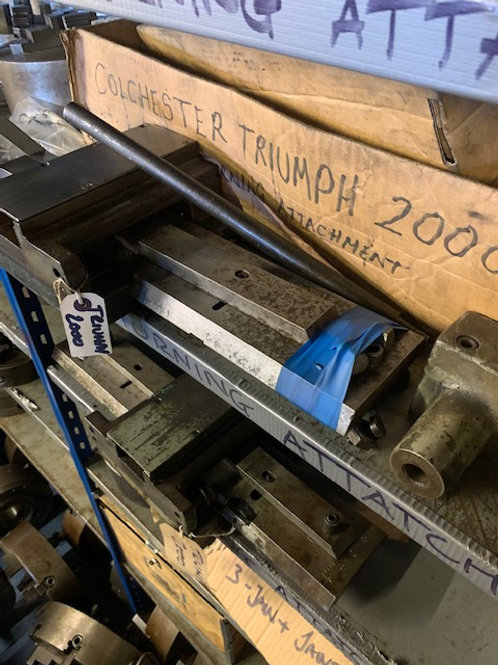 COLCHESTER TRIUMPH 2000 TAPER TURNING ATTACHMENT