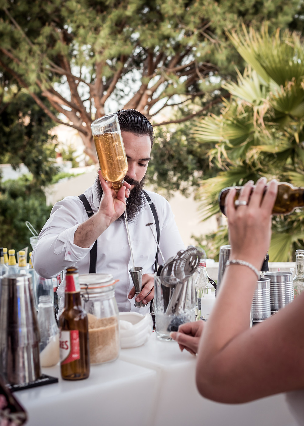 Hire a Bartending Service for your wedding, private party or event. Signature cocktails for your special day