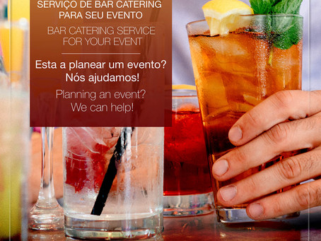 Bar Catering no Algarve