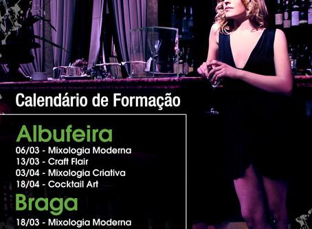 Cursos de Bar: Algarve, Sintra e Braga