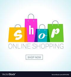 online-shopping-shopping-bags-logo-inter