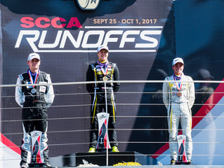 Matthew Cowley Wins the SCCA National Championship Runoffs at the Indianapolis Motor Speedway