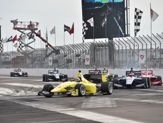 Strong Showing for Team Pelfrey's Indy Lights Duo at the Grand Prix of St. Petersburg