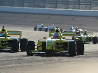 TJ Fischer Continues Podium Streak at the Indianapolis Motor Speedway