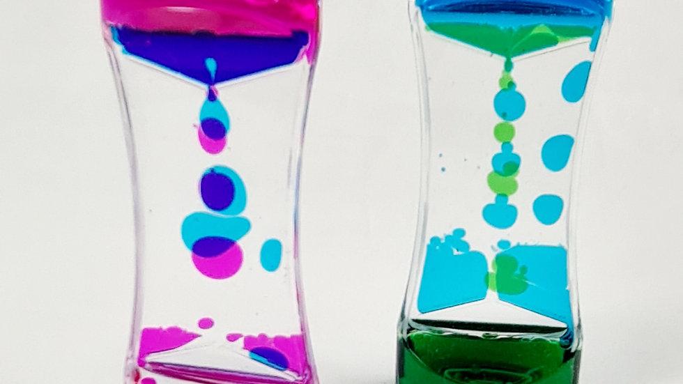2 Pack Double Colour Liquid Timers
