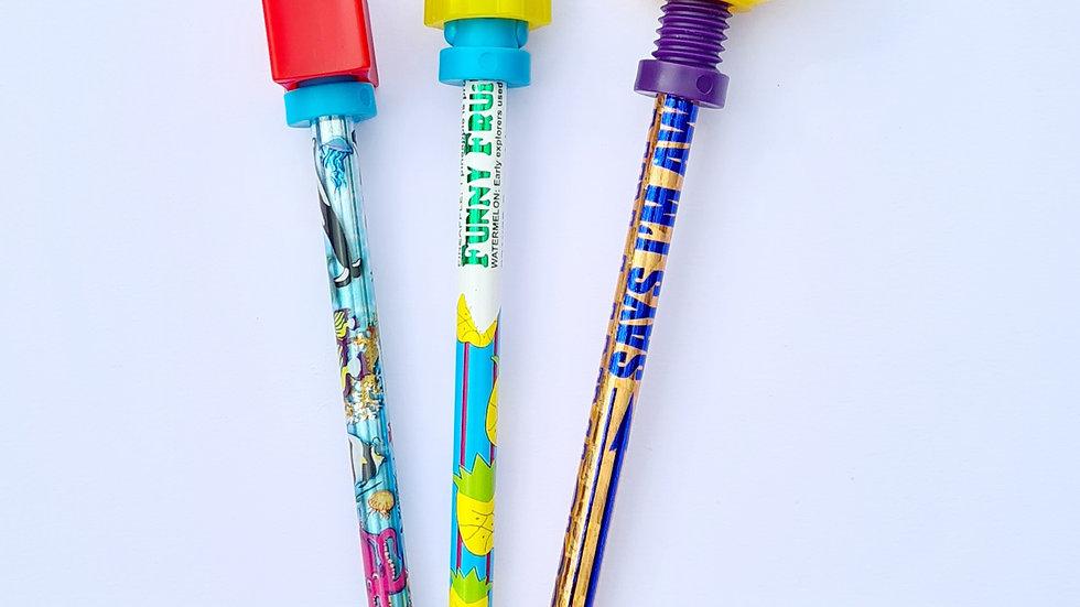 Fidget Pencils 3 pack