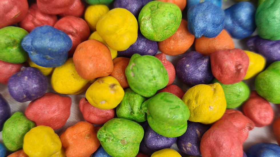 Rainbow Chickpeas Sensory base